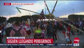 Danzantes festejan a la Virgen en la Basílica