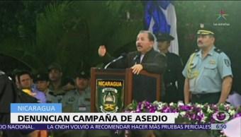 Denuncian acoso de Daniel Ortega contra televisora crítica