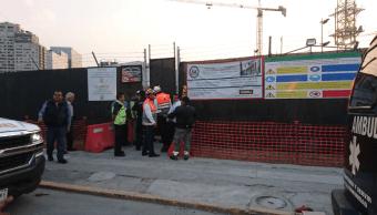 Cae barda en construcción de la Embajada estadounidense