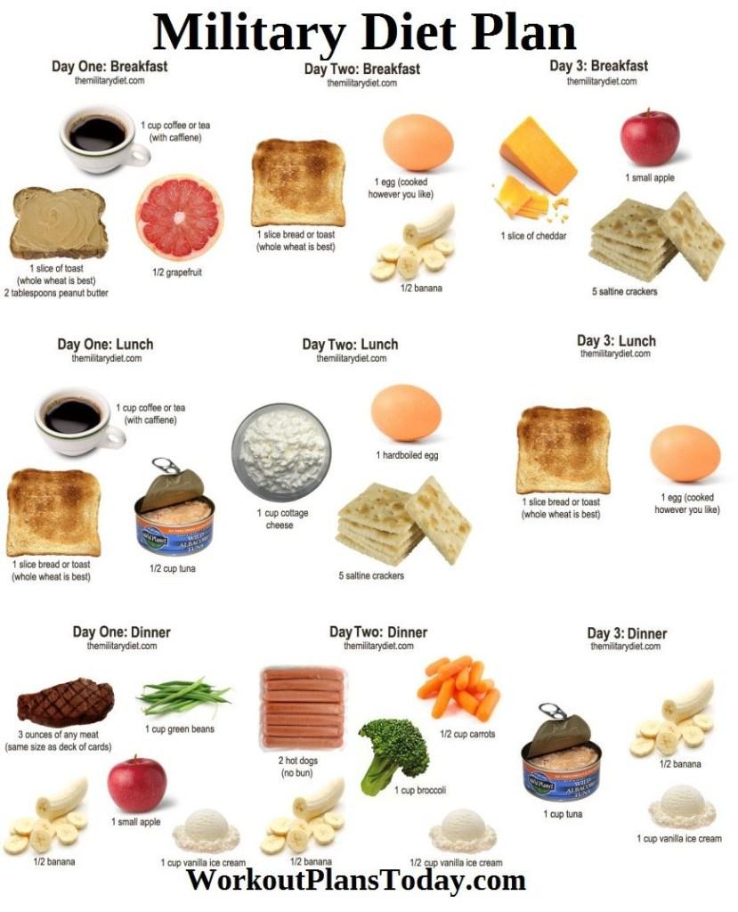 cómo perder 10 libras en un esquema de comidas de 1 semana