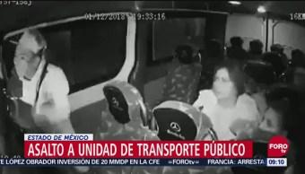 Difunden Asalto A Unidad De Transporte Público En Edomex, Asalto A Unidad De Transporte Público, Edomex, Estado De México