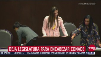 Diputados Aprueban Solicitud Licencia Ana Gabriela Guevara