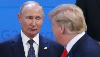 Trump habló dos veces con Putin durante la cumbre del G20