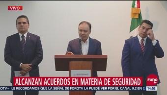 Durazo y Conago alcanzan acuerdos en materia de seguridad