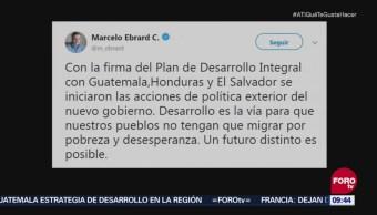 Ebrard informa que iniciaron las acciones de política exterior del nuevo gobierno