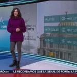 El Clima 'A las Tres' con Daniela Álvarez del 17 de diciembre de 2018