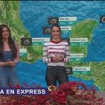 El clima en Express del 28 de diciembre de 2018