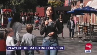 El Playlist de Matutino Express con Gina Holguín