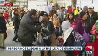 'El Repor' entrevista a peregrinos que visitan la Basílica de Guadalupe