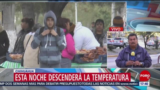 emiten alerta amarilla por bajas temperaturas en chihuahua