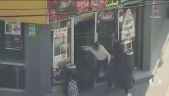 Empleados Detienen Dos Presuntos Ladrones Toluca
