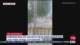 Enfrentamiento en plaza principal de La Huerta, Jalisco