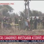 Especialistas Canadienses Llegarán Puebla Investigar Accidente