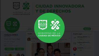 Gobierno CDMX estrena logotipo sitios web y redes sociales