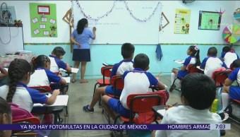 Evaluación a maestros no se suspende, pero no habrá sanciones