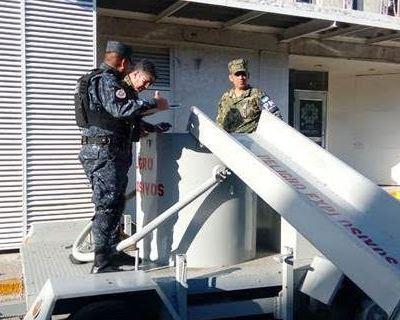 Semar desactiva artefacto explosivo en centro comercial de Campeche