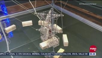 Exposición de construcciones robotizadas en Reino Unido