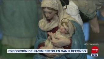 Exposición 'Nacimientos' se presenta en el Colegio de San Ildefonso