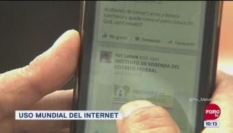 Extra, Extra: El 52% de la población mundial usa internet