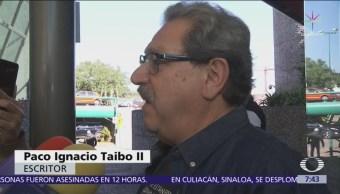 FCE suspende proceso de entrega-recepción a Paco Ignacio Taibo II