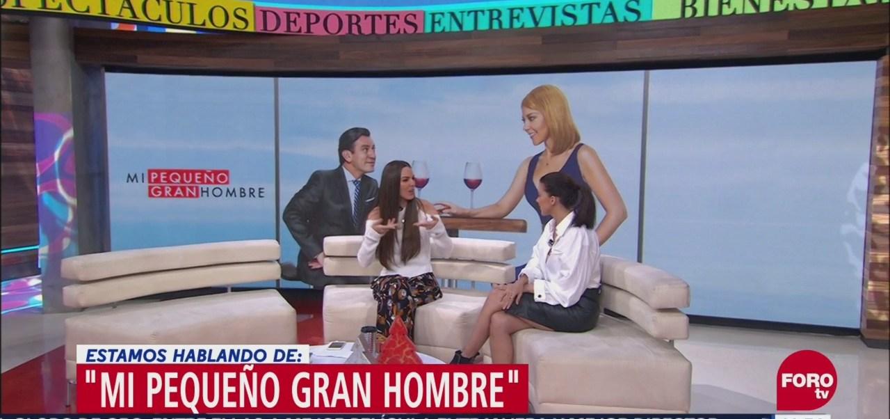 Fernanda Castillo presenta la película 'Mi pequeño gran hombre'