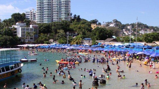 Acapulco, lleno por fiestas de Año Nuevo