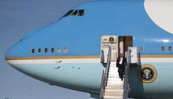 Air Force One trasladará cuerpo de George H. W. Bush: Trump
