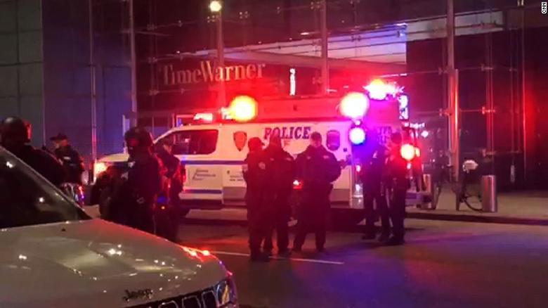 Investigan amenaza de bomba a oficina de CNN en NY