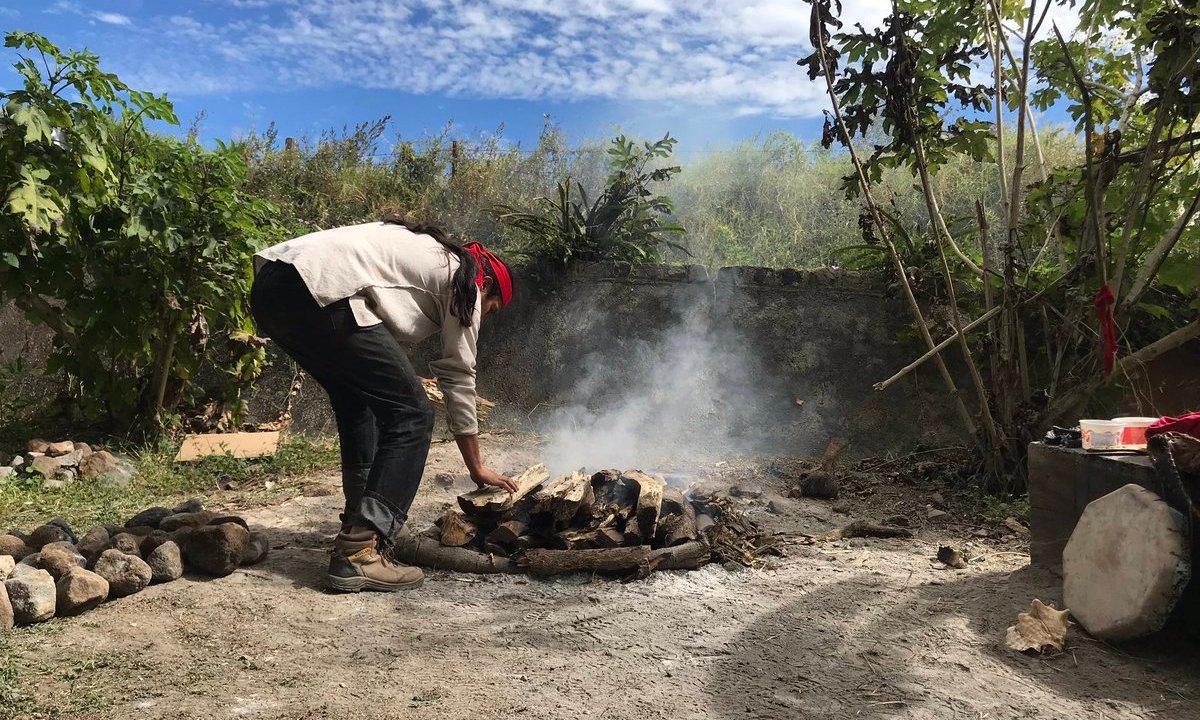 Realizan baños de temazcal para despedir 2018 en Colima