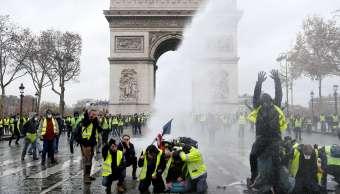 Francia: Protestas por combustibles exhibe fractura social