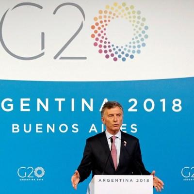 G20 alcanza acuerdo sobre comercio y cambio climático