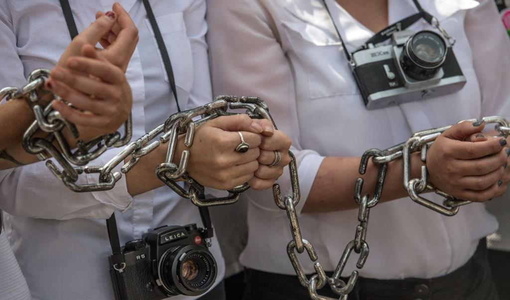 China, Egipto y Arabia países que arrestaron más periodistas