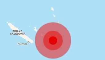 Terremoto y tsunami hoy 4 de diciembre en Nueva Caledonia