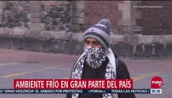 Frente Frío 14 Ocasiona Bajas Temperaturas México