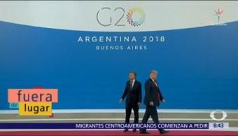 Fuera de Lugar: En el G20, Macri le habla a Trump y lo ignora