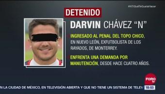 Futbolista al reclusorio por no pagar pensión