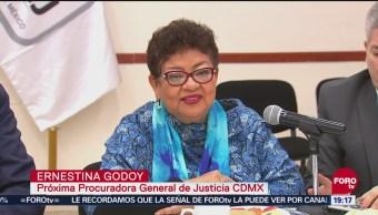 Godoy Busca Concretar Fiscalía Cdmx Eficaz