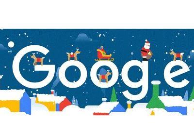 Santa Claus comienza la entrega de regalos en doodle de Google