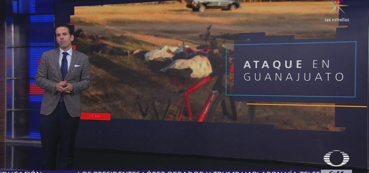 Grupo armado asesina a 5 jornaleros en Irapuato, Guanajuato