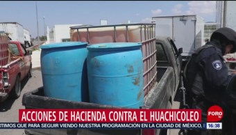 Hacienda Detecta A Presunto Huachicolero SHCP