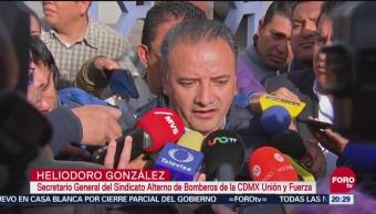 Heliodoro González Deslinda Agresión Líder Sindical Bomberos