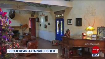 Hija de Carrie Fisher la recuerda en Instagram