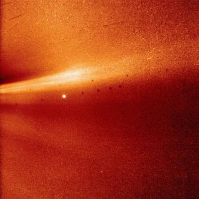 Sonda Parker, de la NASA, envía primera imagen de la atmósfera del Sol