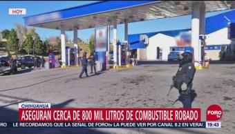 Incautan 800 Mil Litros De Huachicol En Chihuahua, Incautan, 800 Mil Litros De Huachicol, Chihuahua, Combustible Robado