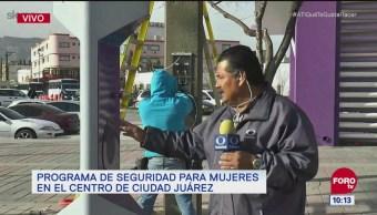 Instalan sistema de alarmas para mujeres en Ciudad Juárez