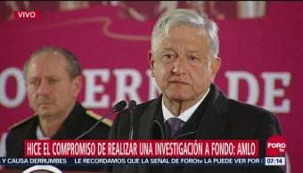 Investigación del accidente donde murió gobernadora Érika Alonso será transparente: AMLO