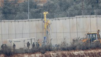 Israel destruye túneles de Hezbolá desde Líbano
