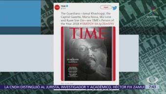 Jamal Khashoggi y otros periodistas, ´Personas del año'