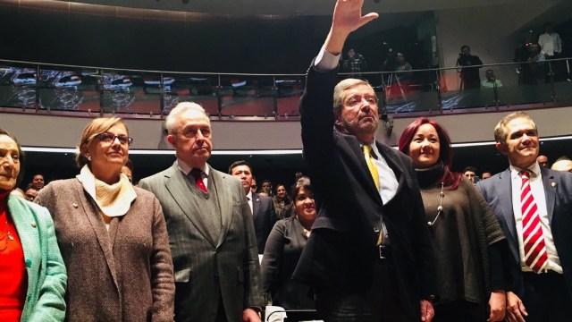 Juan Ramón de la Fuente rinde protesta como embajador de México ante la ONU