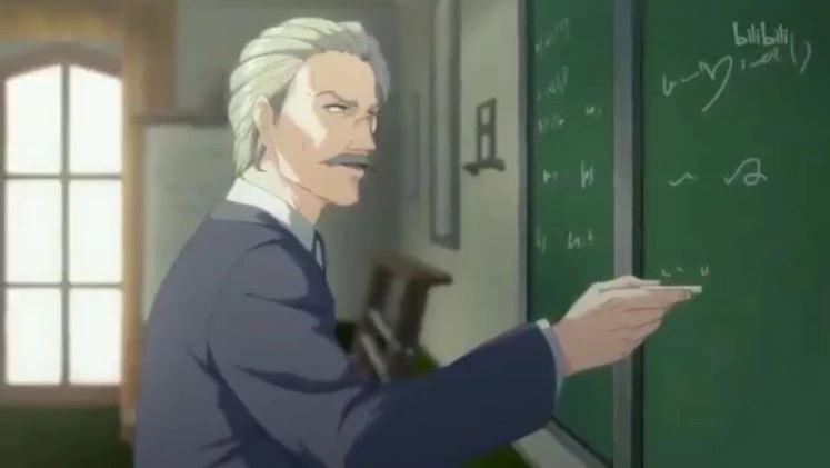 Karl Marx en el dibujo animado presentado por el régimen chino (Bilibil-Captura de pantalla)